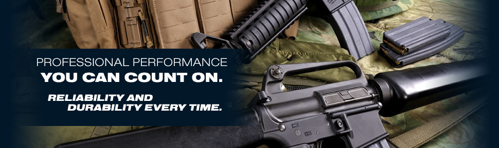 EVERY ROUND. EVERY TIME. A HERITAGE THAT'S ARMED U.S. SOLDIERS FOR DECADES