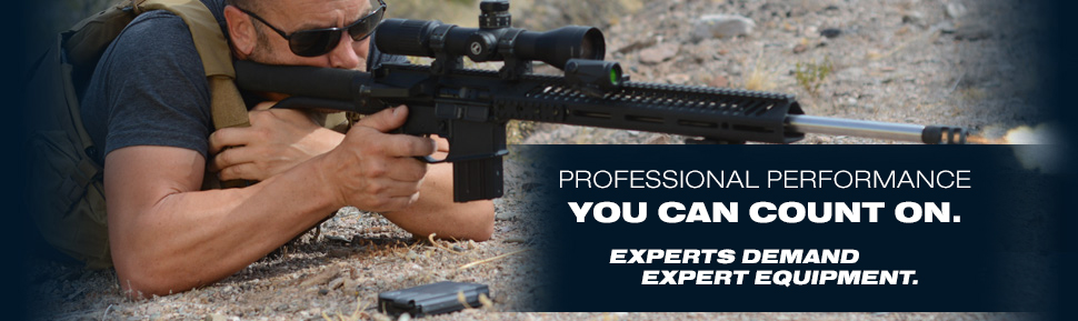 EVERY ROUND. EVERY TIME. PRECISION PERFORMANCES FOR PRECISION WORK